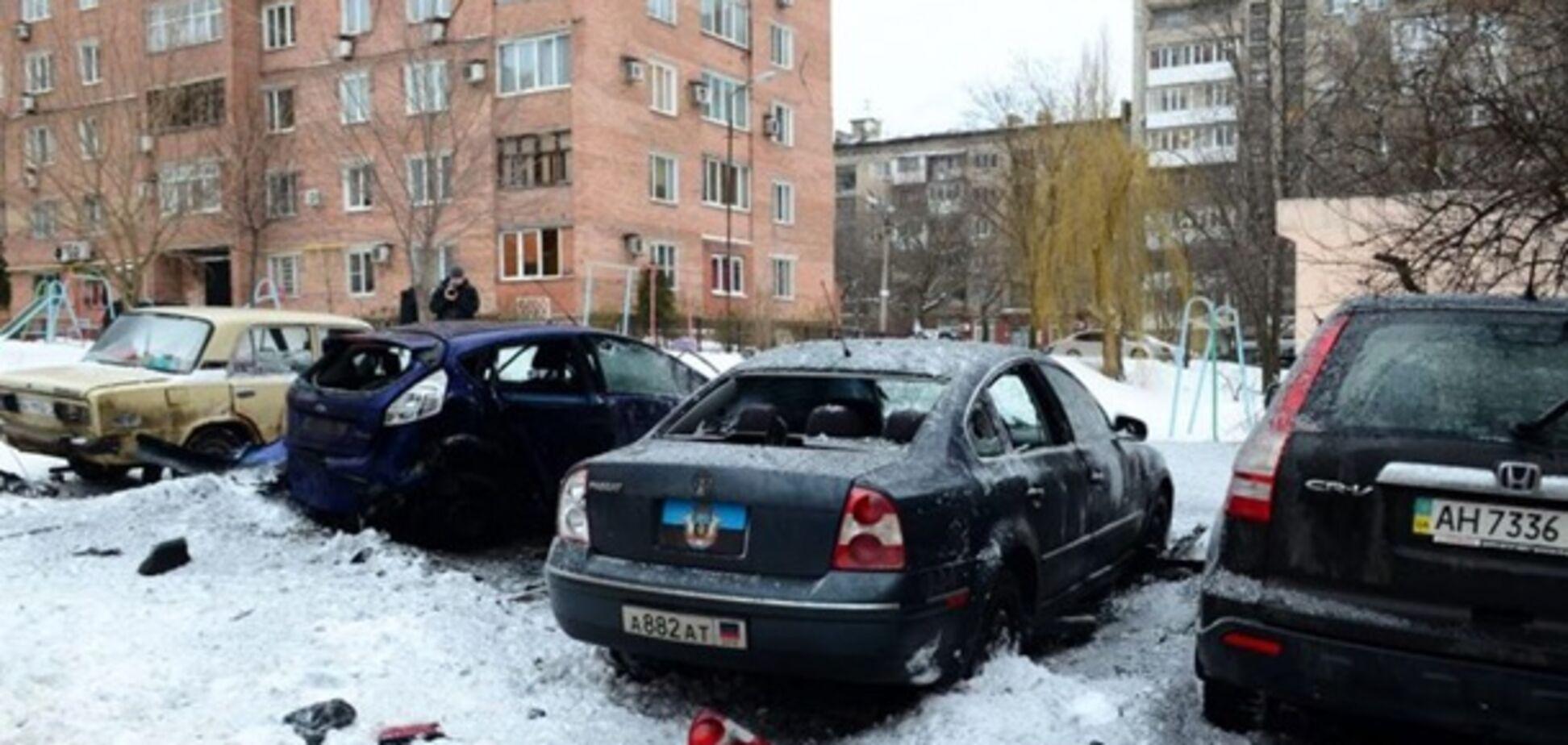 У центрі Донецька пролунав потужний вибух