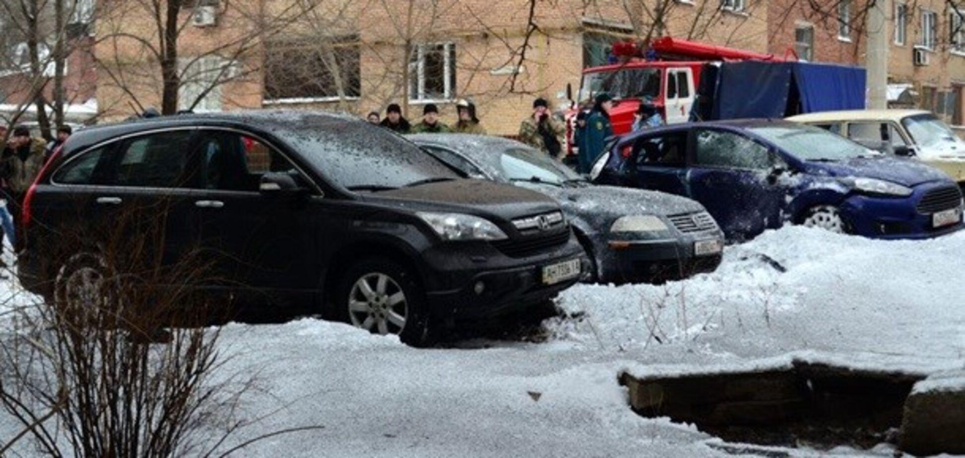 Вибух в Донецьку: з'явилися нові подробиці