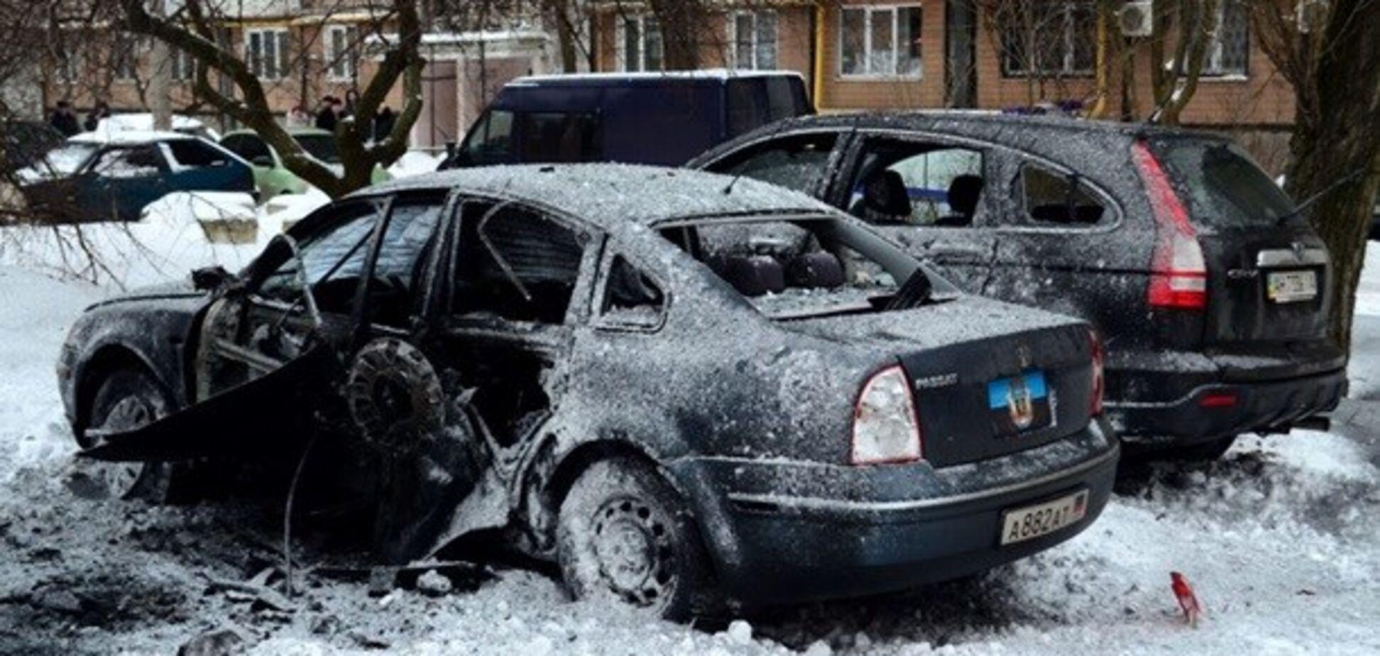 Потужний вибух в Донецьку: опубліковані відео з місця НП