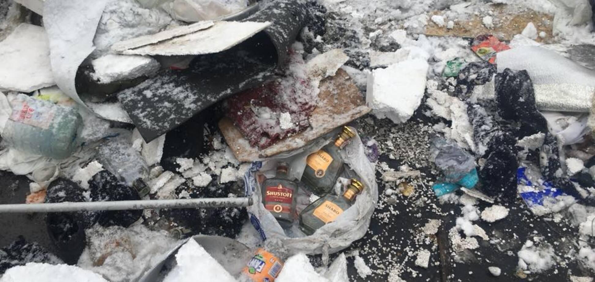 'Побывал на свалке': журналист показал, что оставил после себя 'михомайдан' в центре Киева