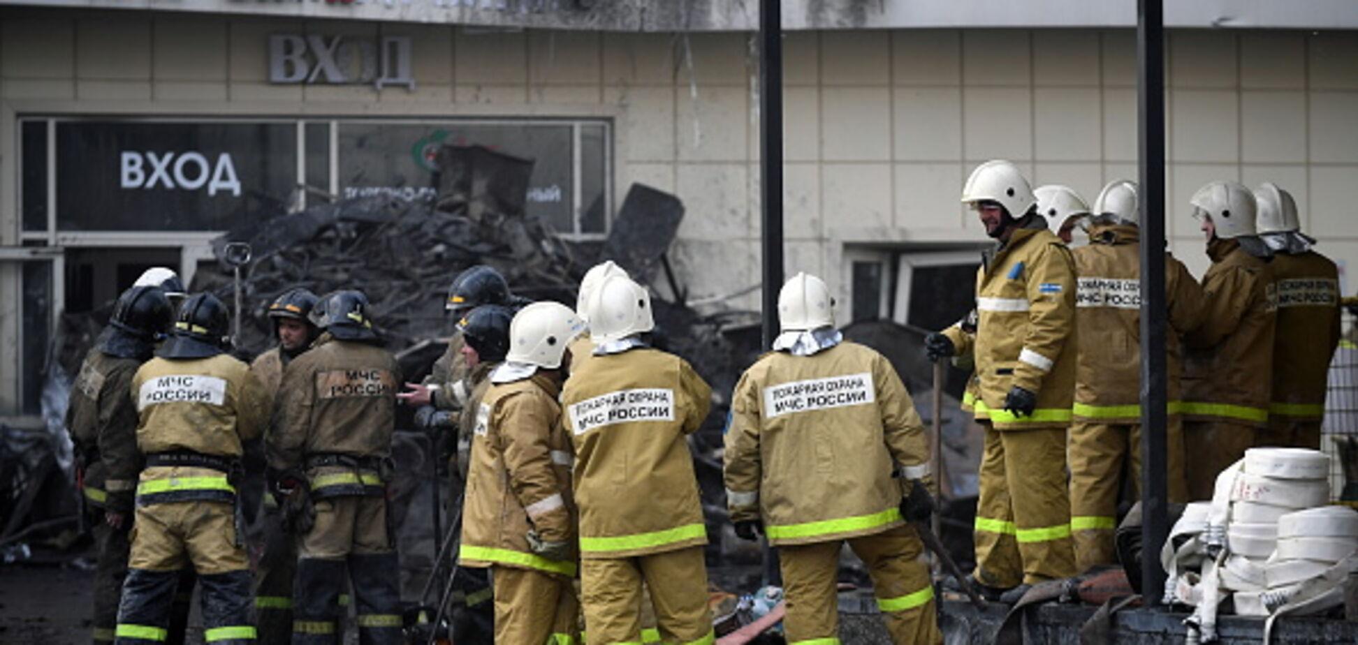 Загибель дітей в Кемерово: з'явилося відео з палаючого ТЦ