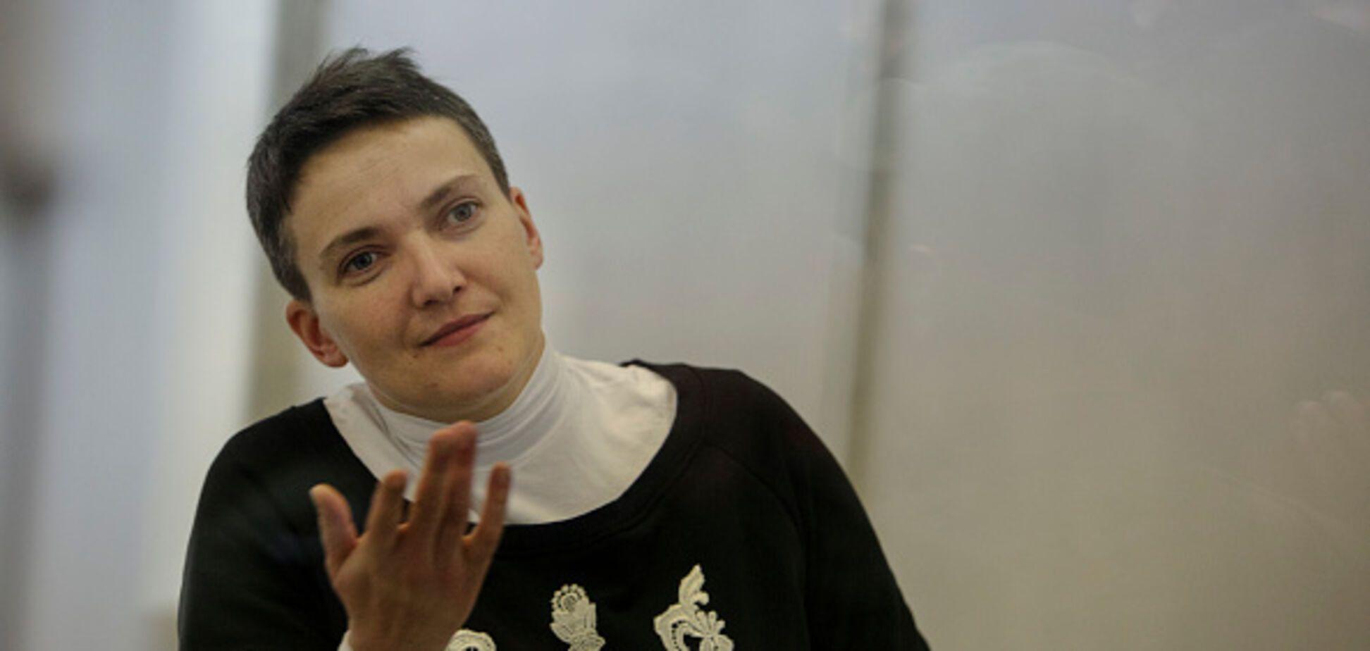Савченко написала українцям листа із СІЗО: опублікований текст