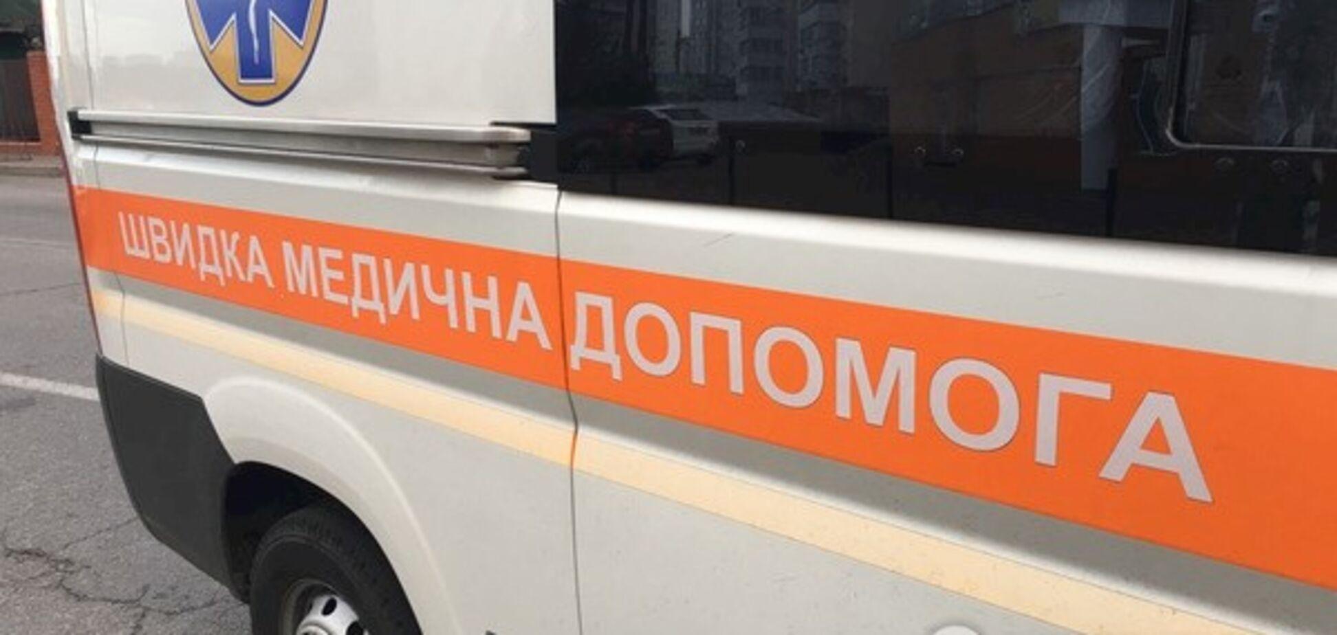 В Киеве автомобиль скорой устроил смертельное ДТП