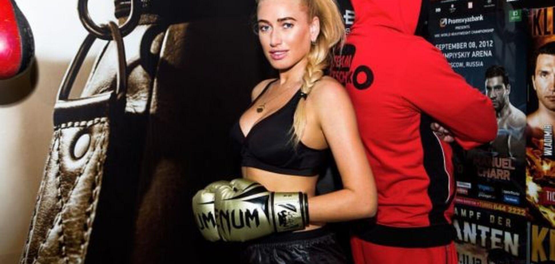 Знаменитая украинская спортсменка снялась в соблазнительной фотосессии в музее Кличко