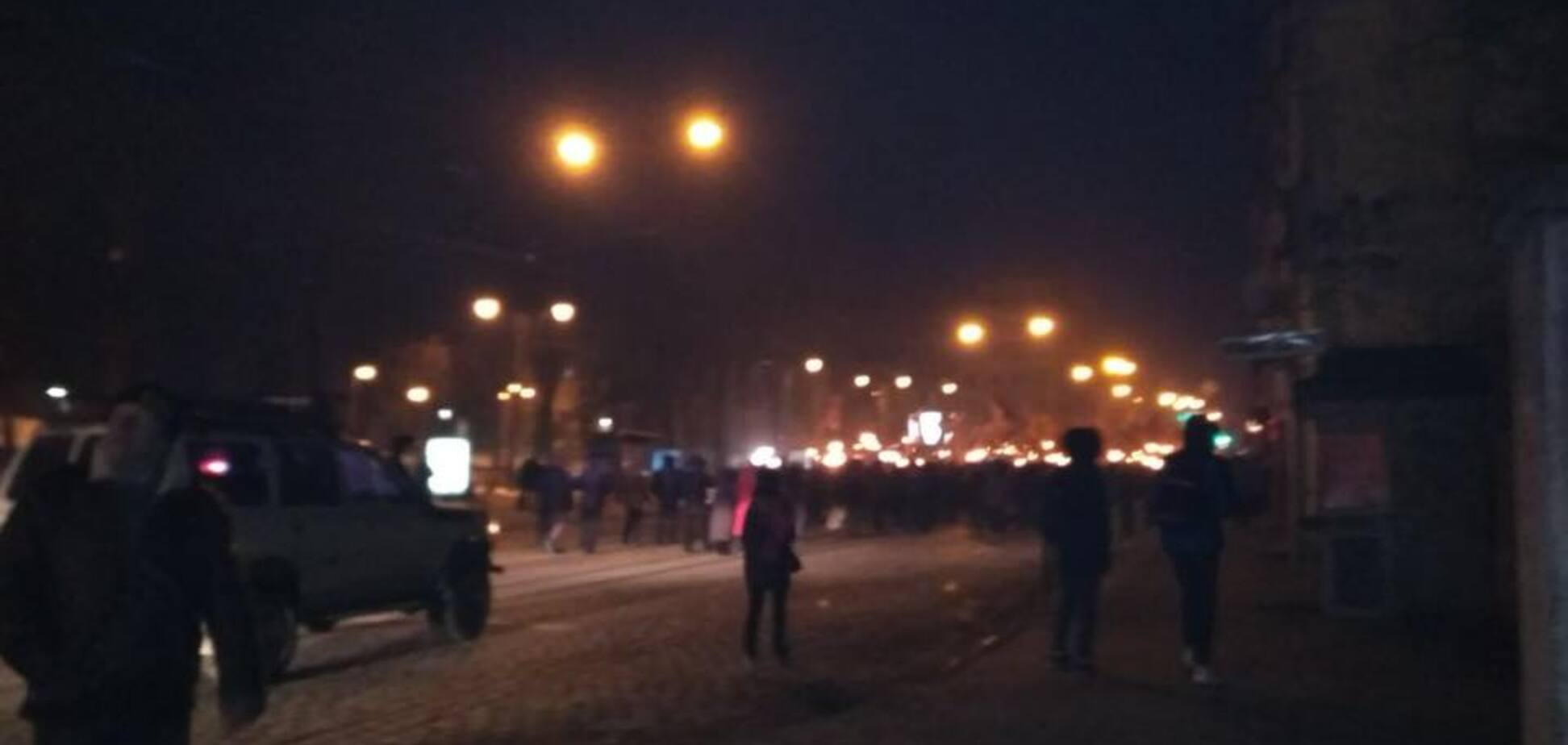 Появилось видео антипольского марша во Львове