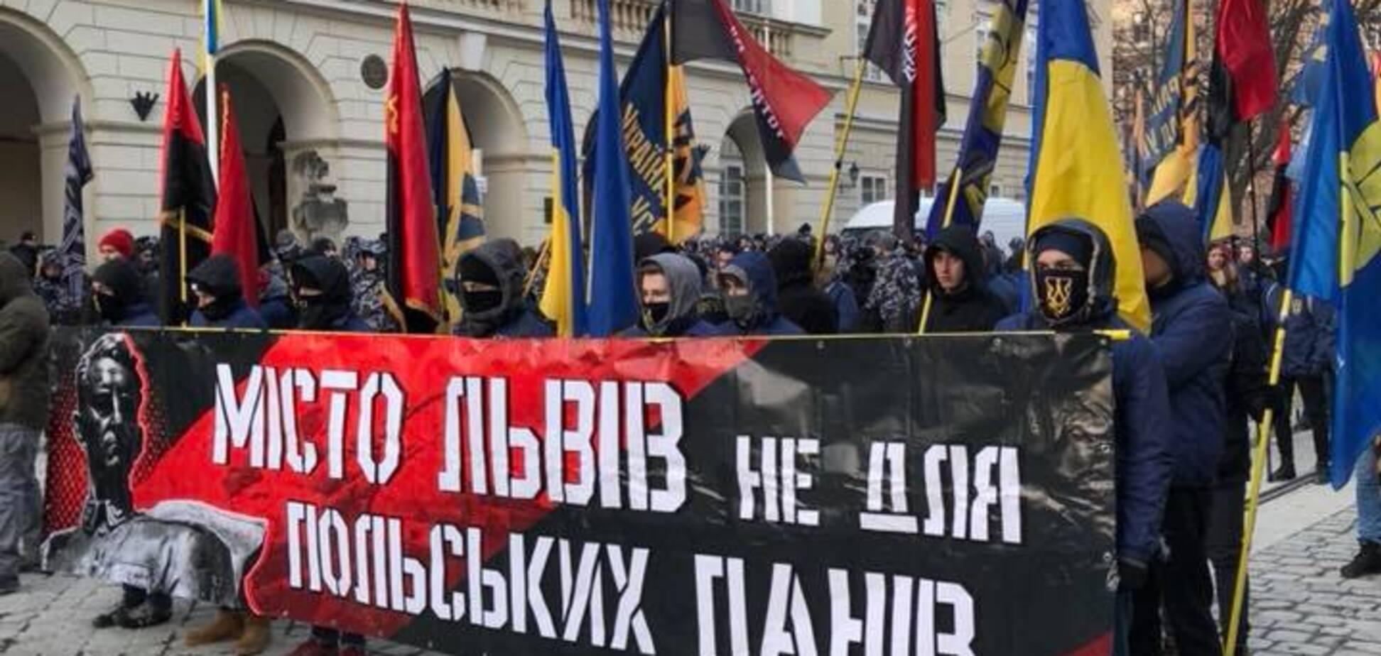 Во Львове ответили на 'антибандеровские' выходки Польши