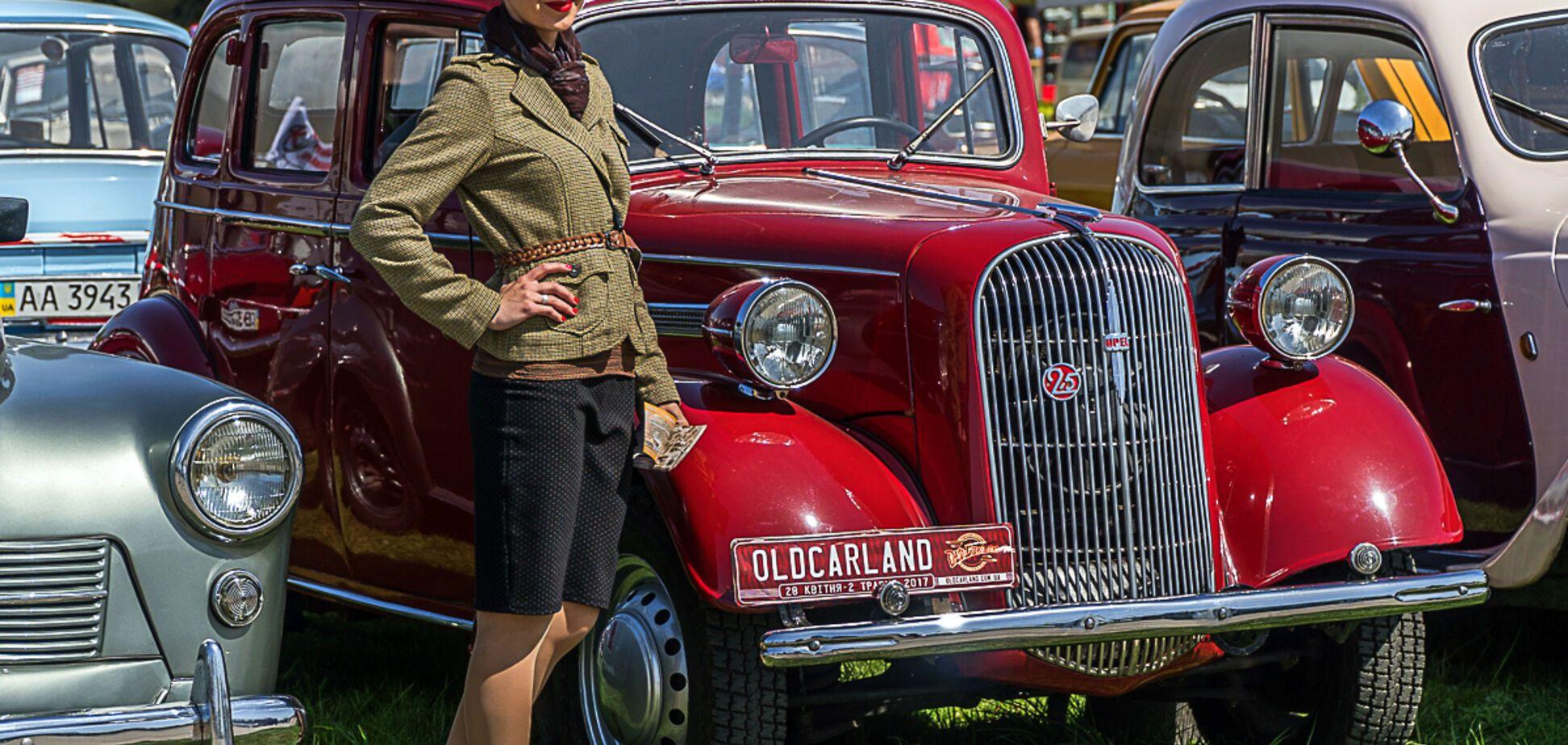 Виставка ретро-автомобілів Old Car Land, 27.04-01.05