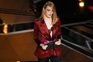 Емма Стоун без нижньої білизни виступила на церемонії 'Оскара'