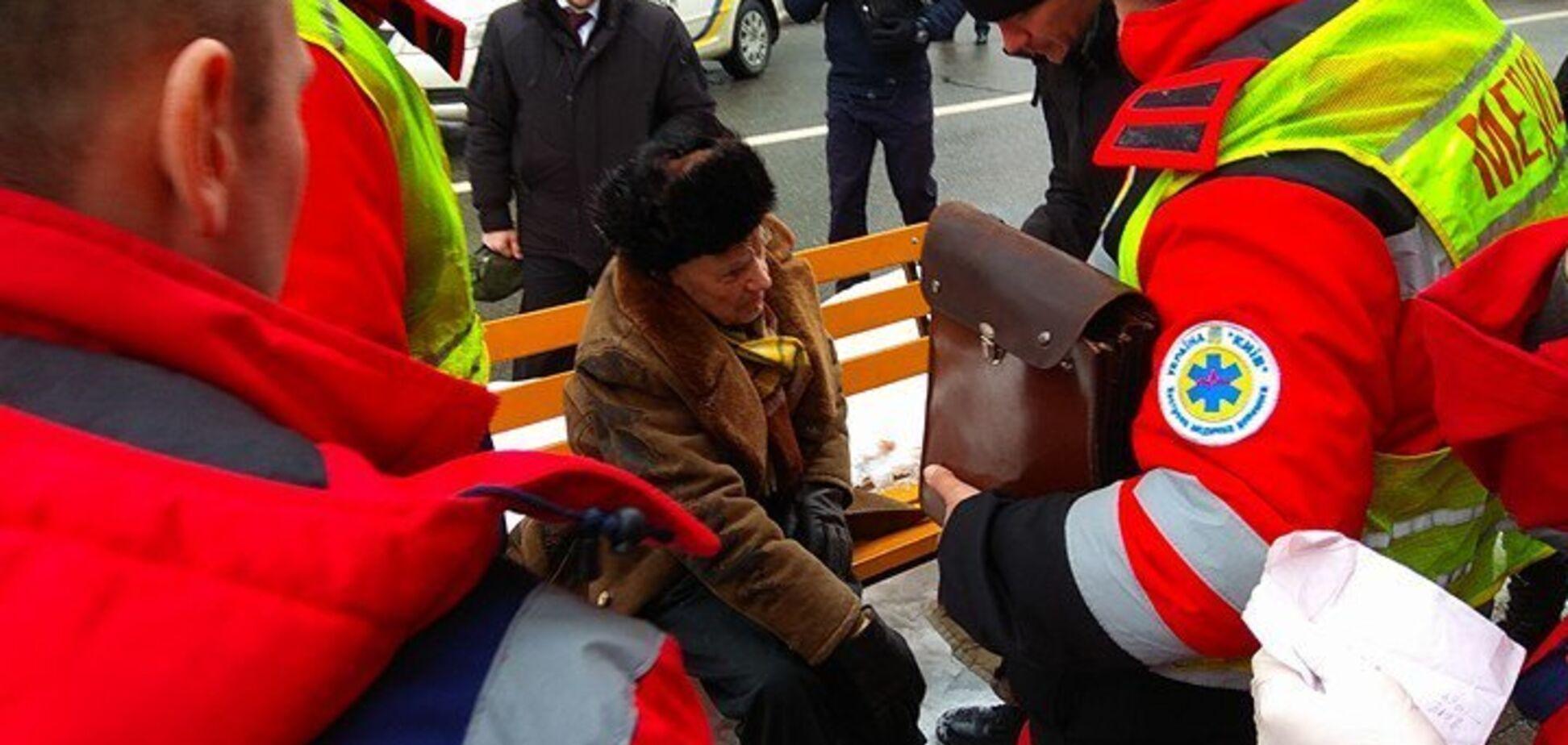 ДТП з авто поліції з кортежу Порошенка в Києві: потерпілий зробив зізнання