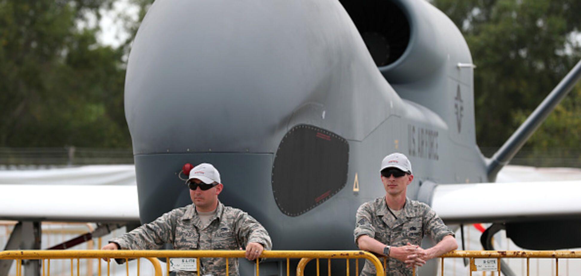 Global Hawk ВПС США провів розвідку на Донбасі
