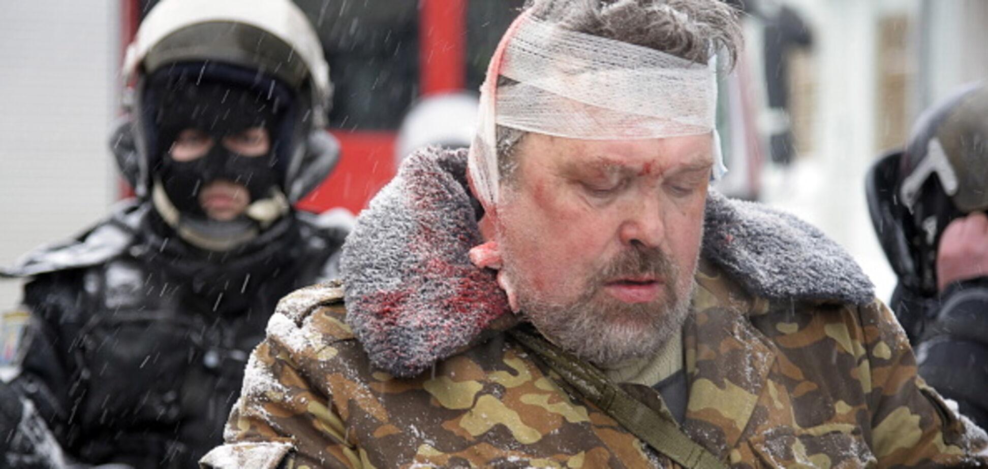 Зачистка під ВР: у Києві пікетували базу колишнього 'Беркута'