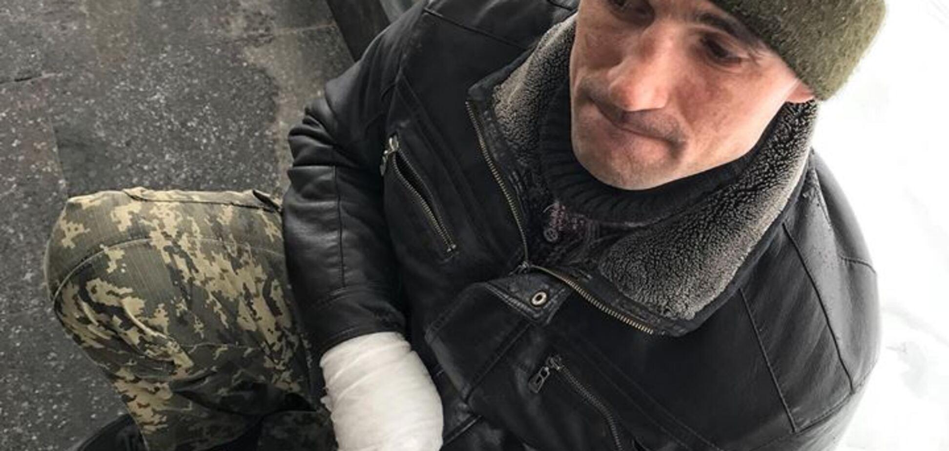 Прикидався АТОшником: у метро Києва провчили нахабного 'гастролера'