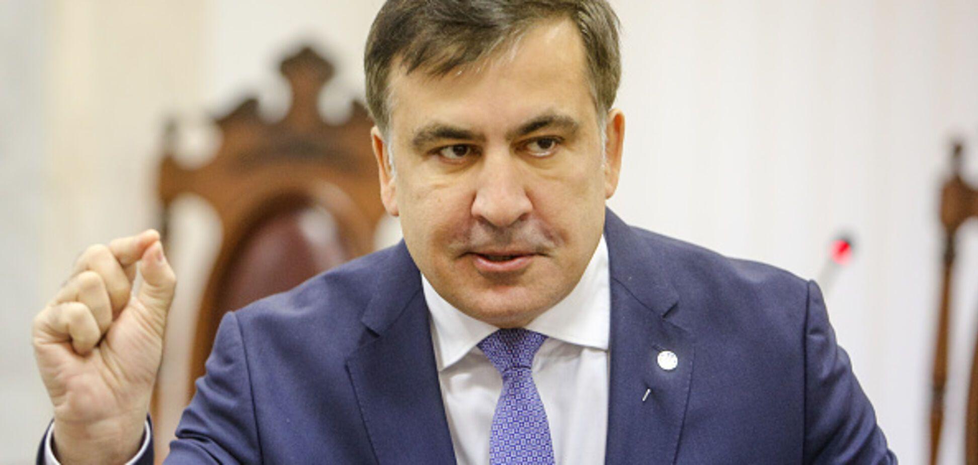 'Как Hyperloop': Саакашвили анонсировал скорое возвращение в Украину