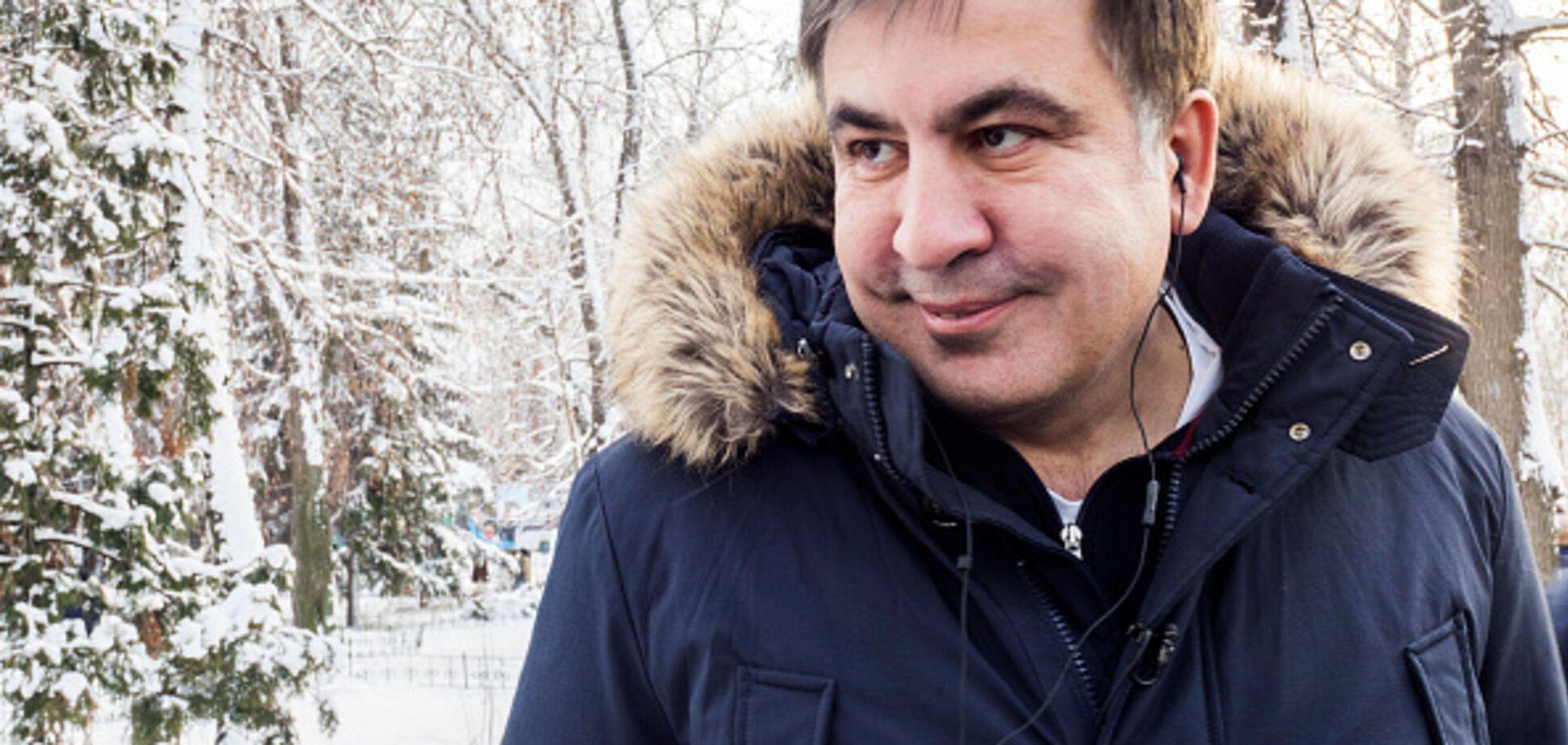 'Хочу быть судимым': Саакашвили попросился в Украину
