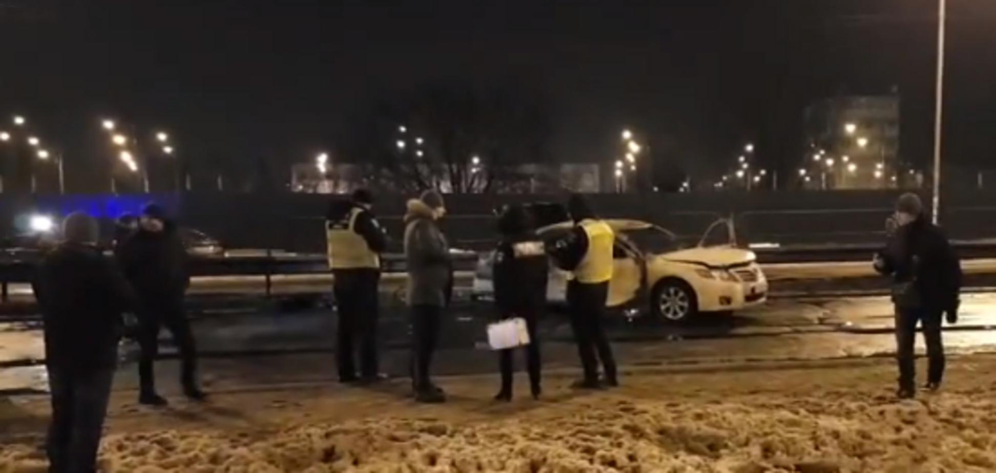 В Киеве посреди дороги взорвали гранаты: новые подробности