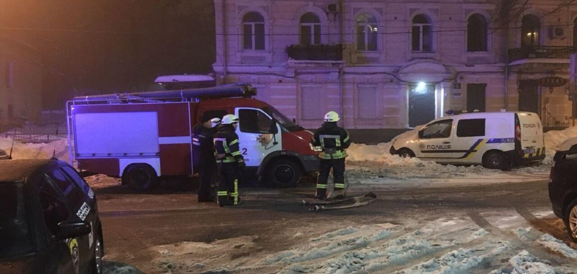 В центре Киева произошел мощный взрыв: целились из гранатомета