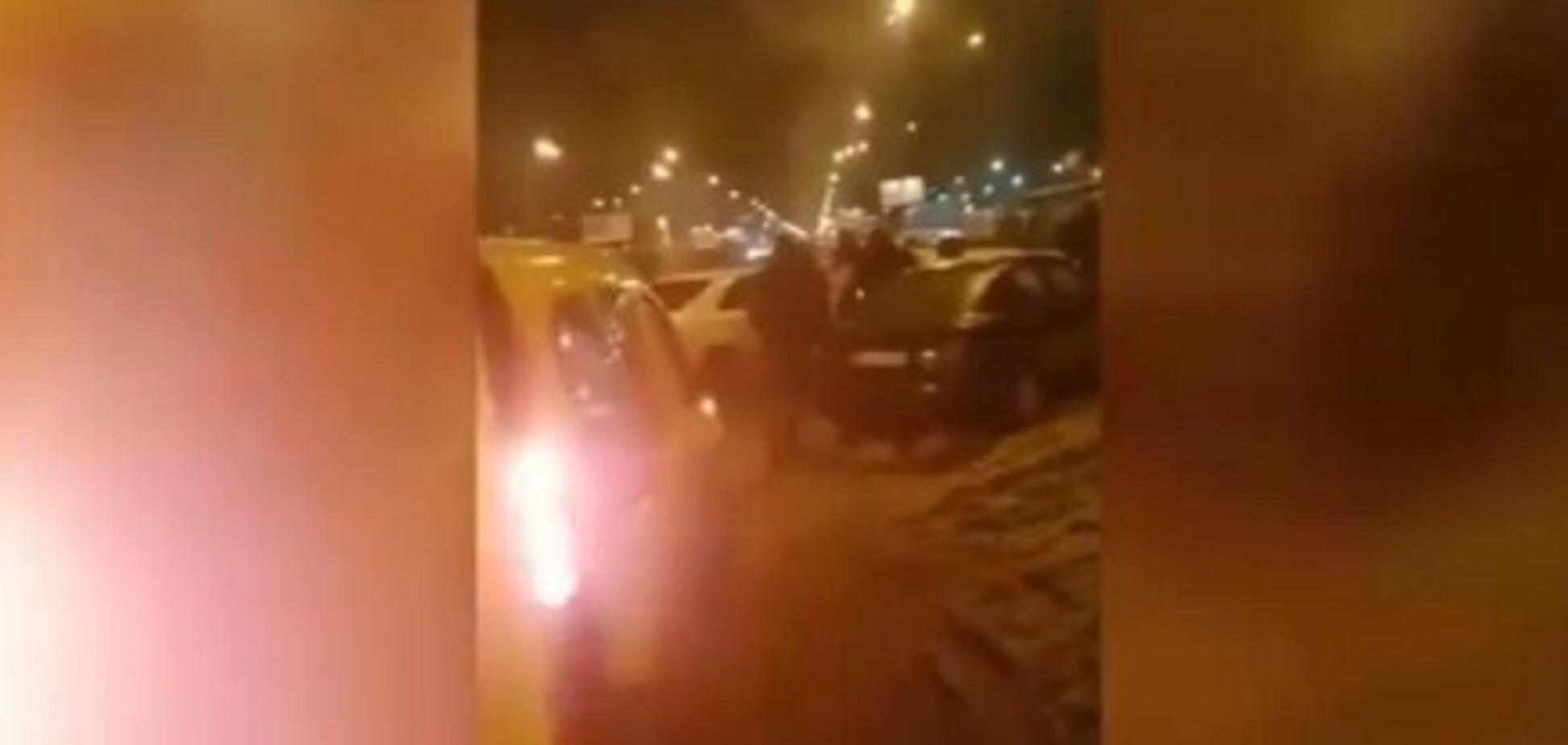 Кинул гранату в СБУшников: появилось видео инцидента с экс-беркутовцем