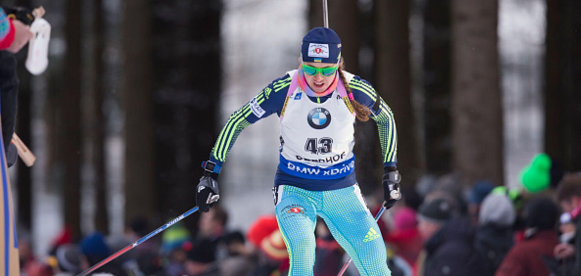 Украина завоевала 'деревянную' медаль в спринте на Кубке мира по биатлону