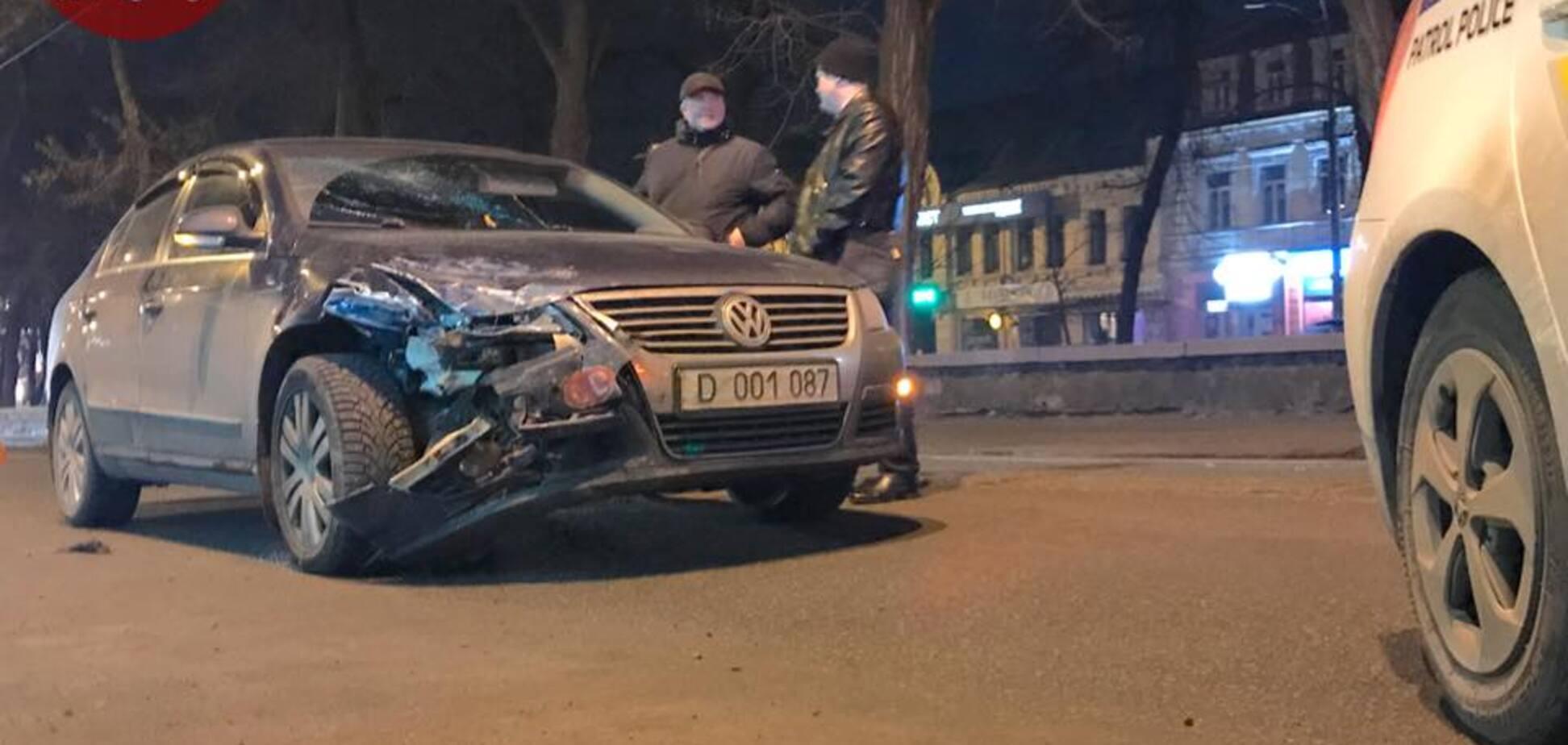 'Водій з ознаками сп'яніння': у Києві дипломатичне авто Росії потрапило в ДТП. Опубліковані фото і відео