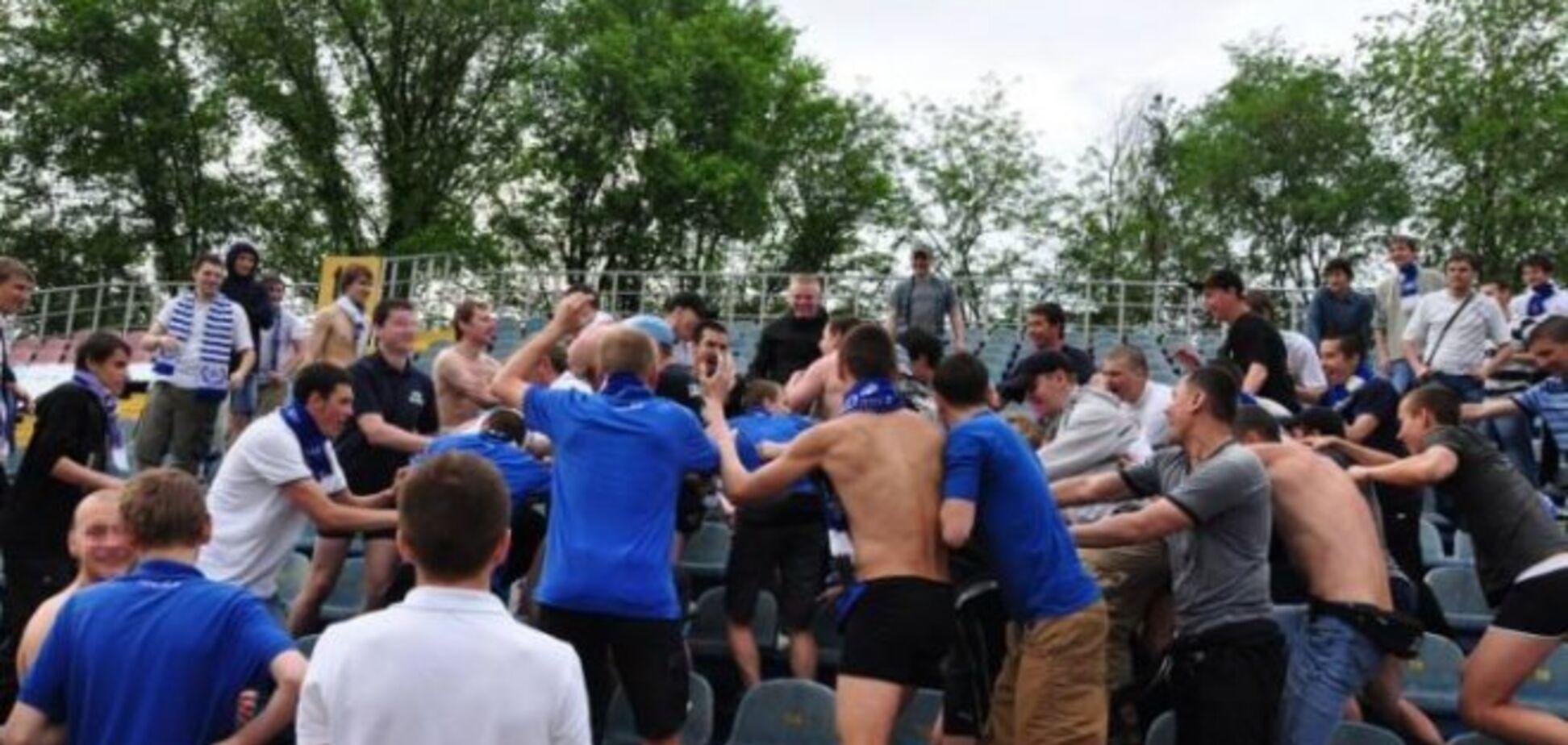 Є постраждалі: на матчі 'Маріуполь' - 'Динамо' відбулася грандіозна бійка - опубліковано відео