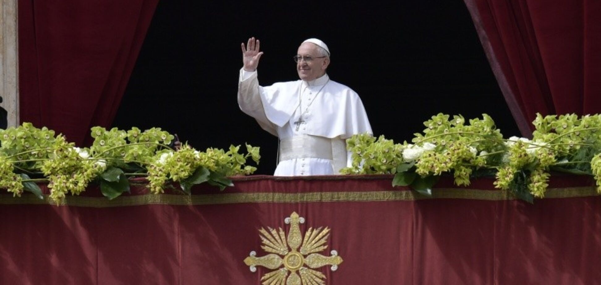 Urbi et Orbi: Франциск сказал о 'плодах мира' для Украины