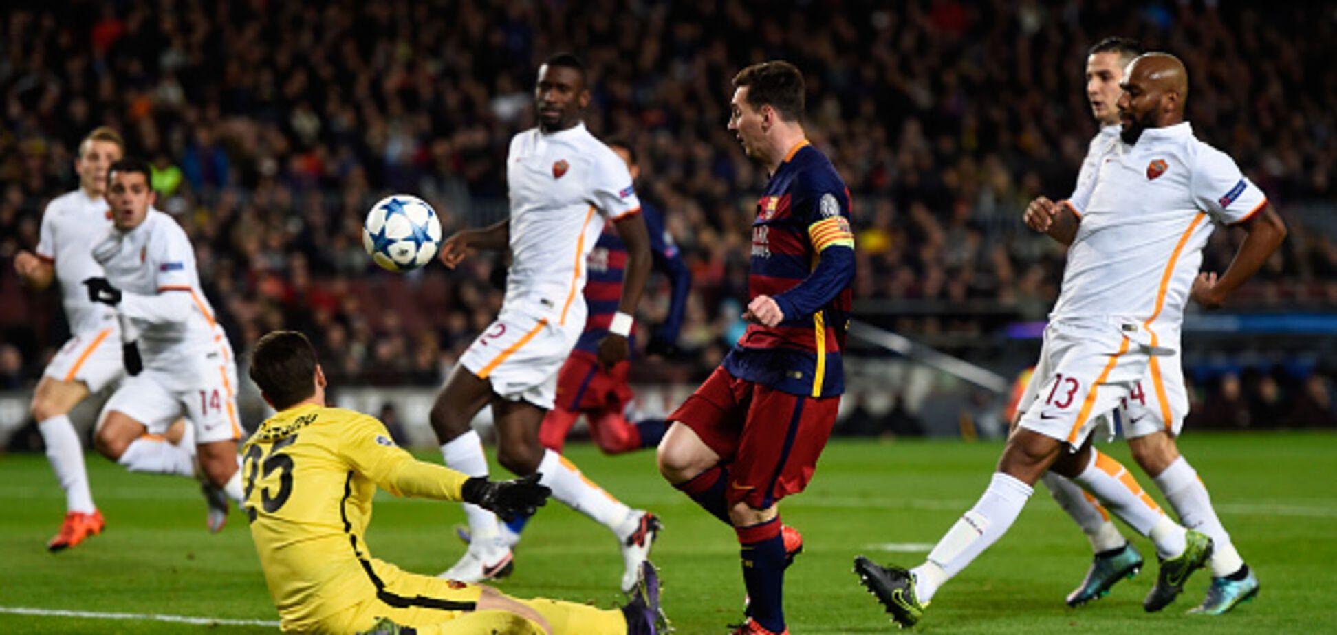 Где смотреть Барселона - Рома: расписание трансляций матча 1/4 финала Лиги чемпионов