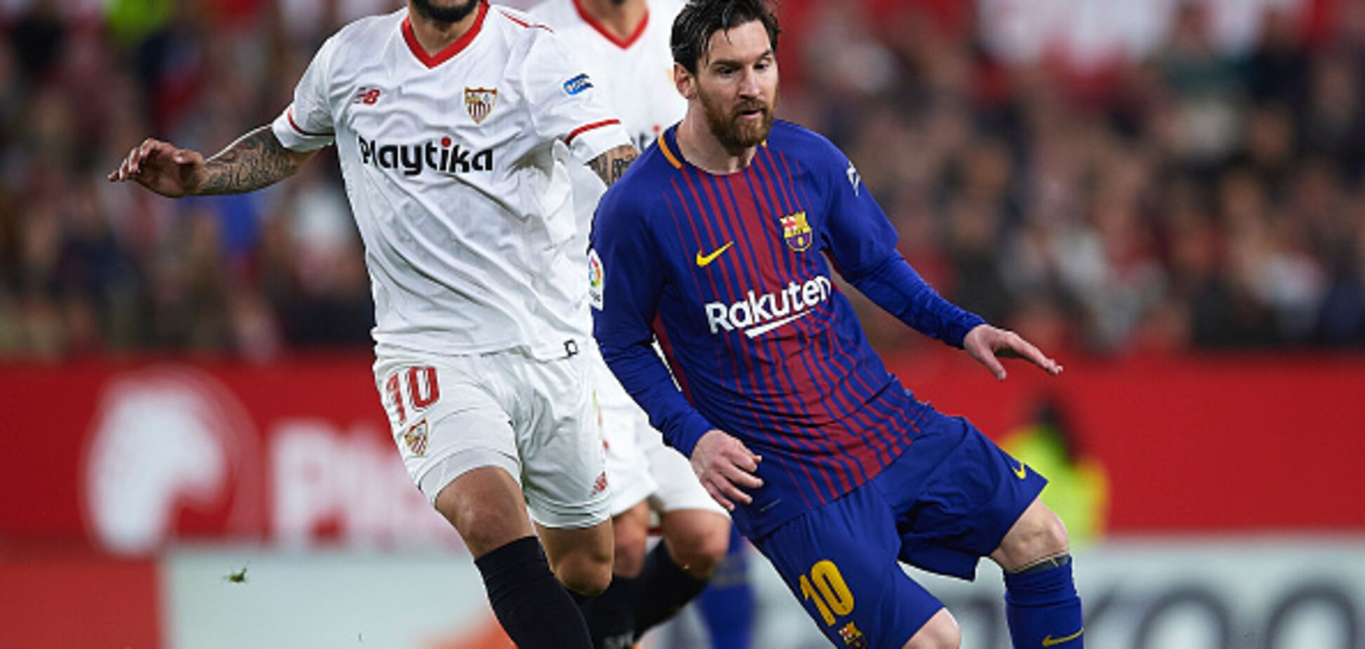 Месси забил супергол и спас 'Барселону' от поражения