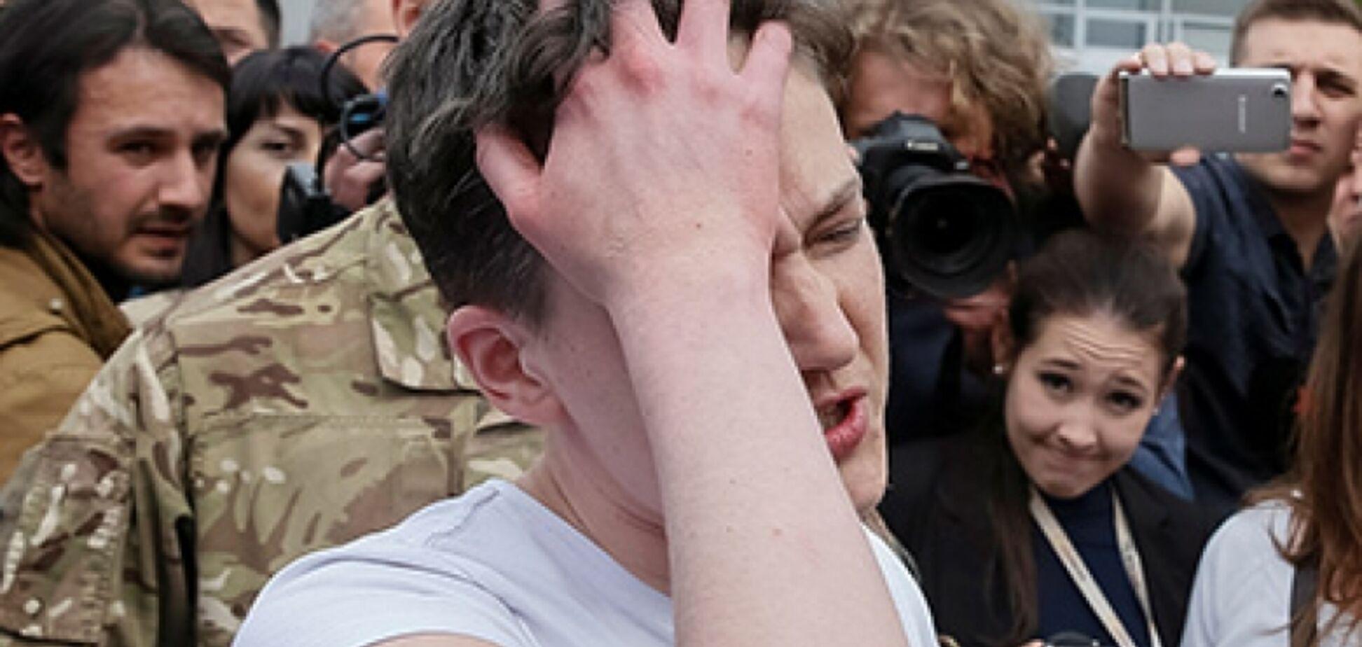 'Це не схоже на Надю': стало відомо про госпіталізацію Савченко