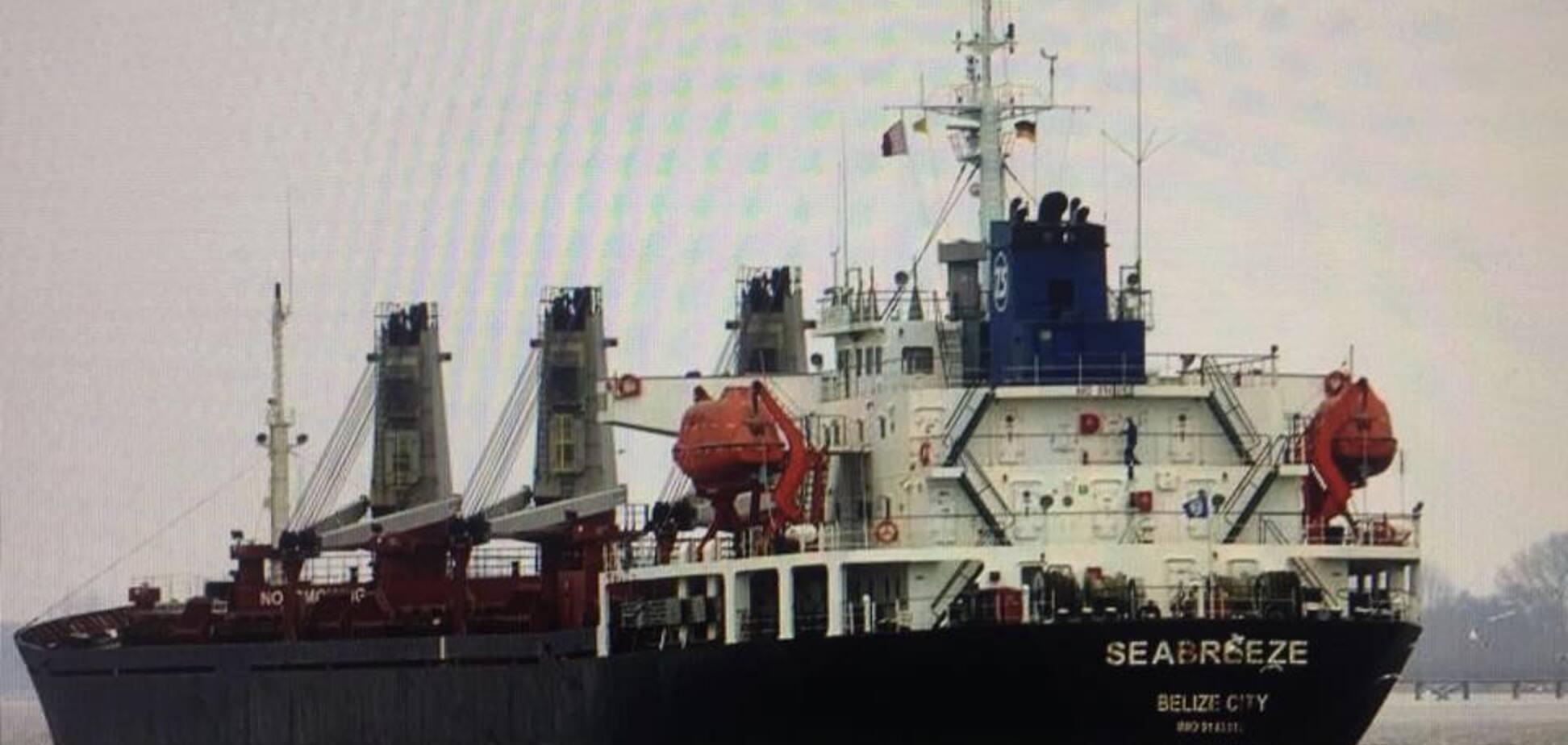 В Україні заарештували ще одне судно РФ через будівництво Керченського мосту