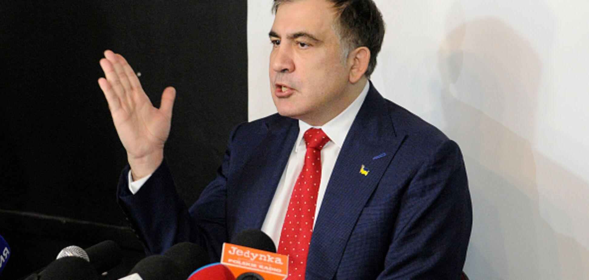 У партії Саакашвілі проблеми: стали відомі подробиці