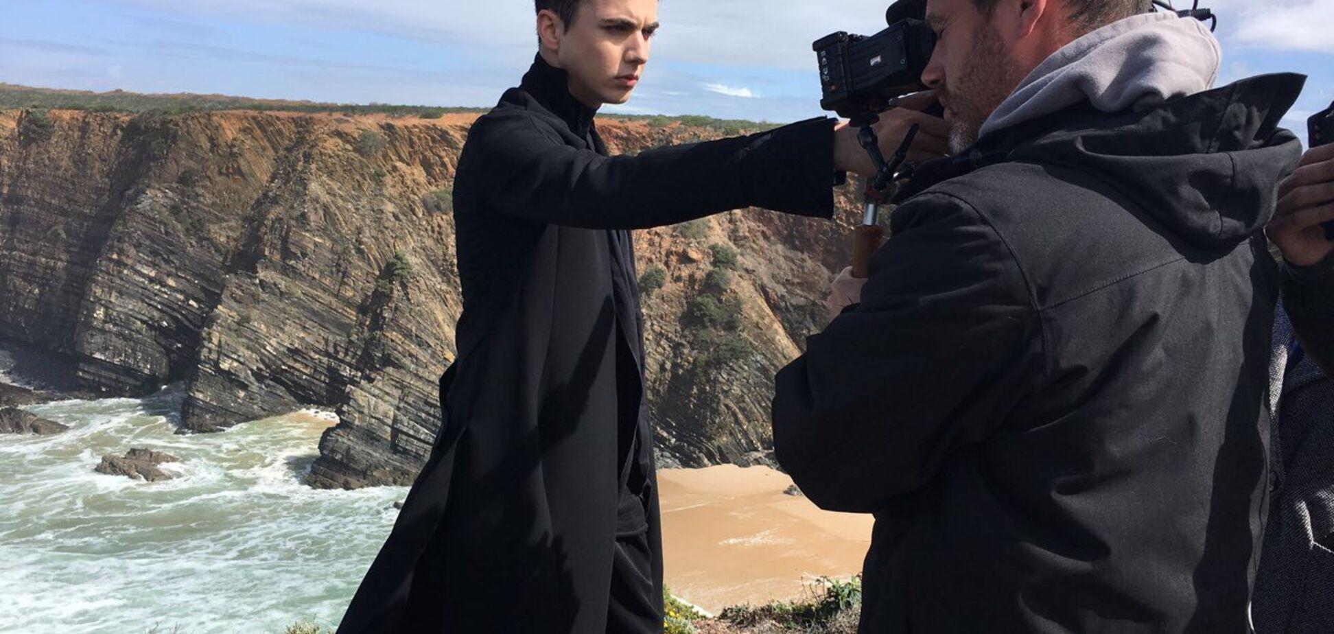MELOVIN знявся у візитці для 'Євробачення-2018'