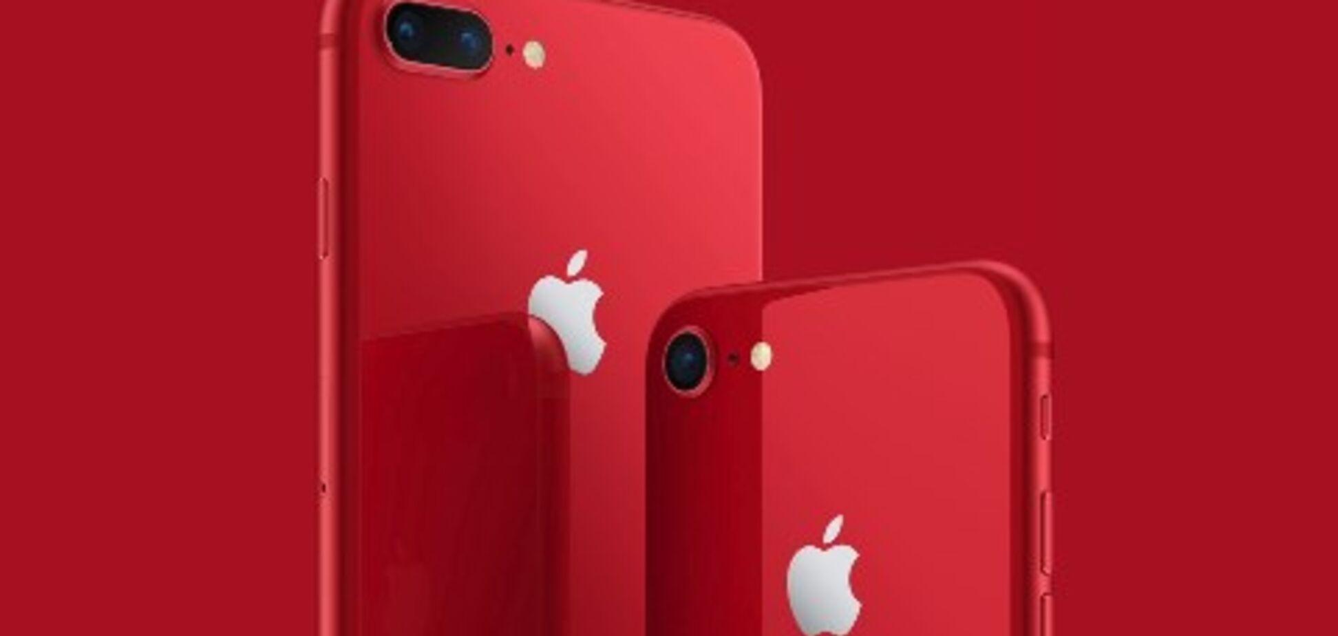 Проти СНІДу: Apple випустила унікальний iPhone