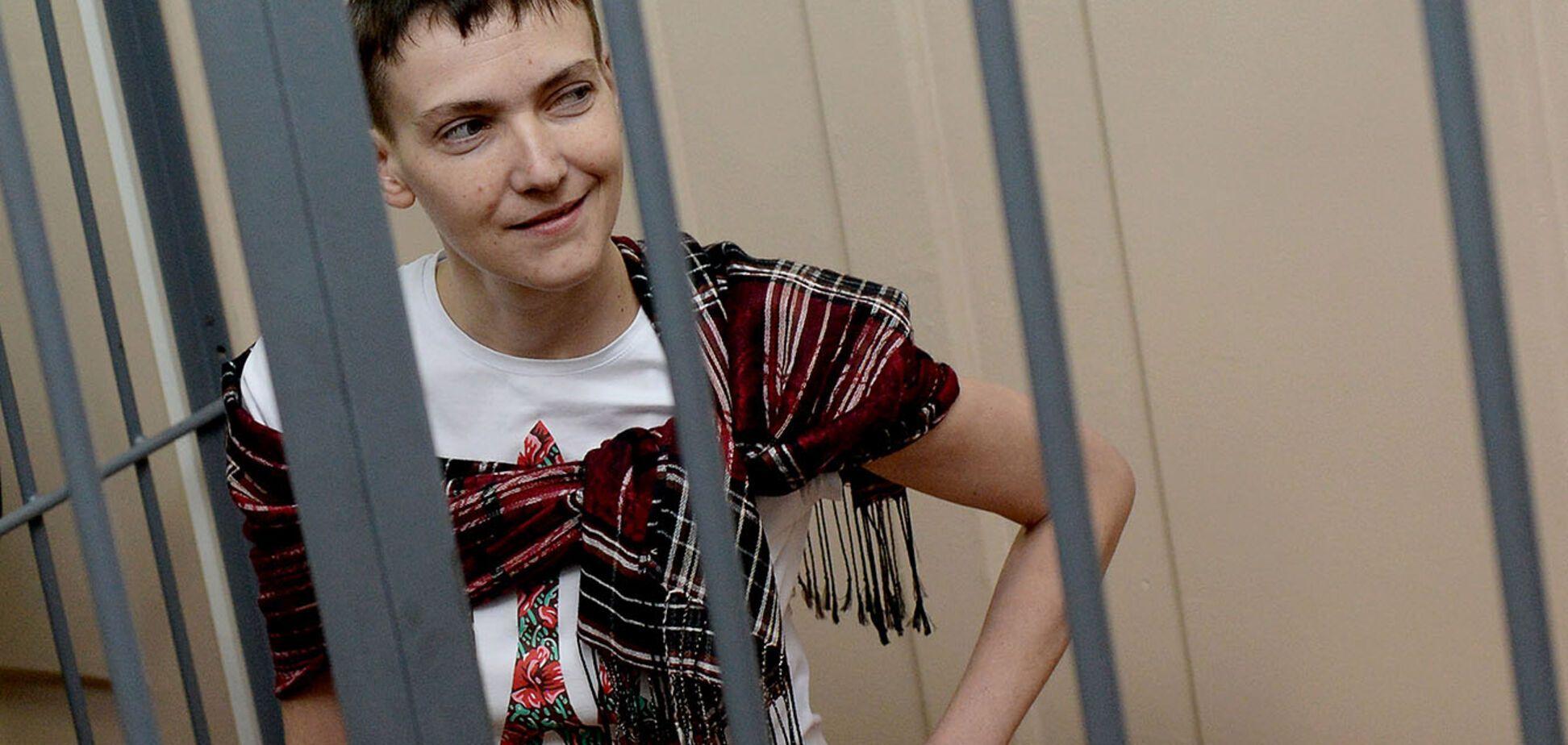Савченко в тюрьме