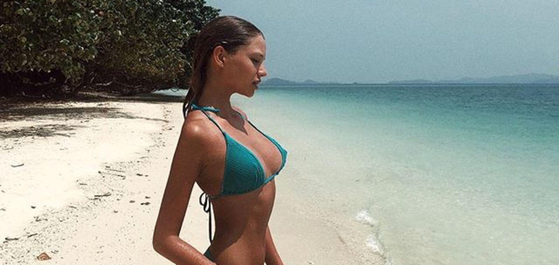18-річна дочка легенди російського тенісу збудила Instagram знімками в бікіні