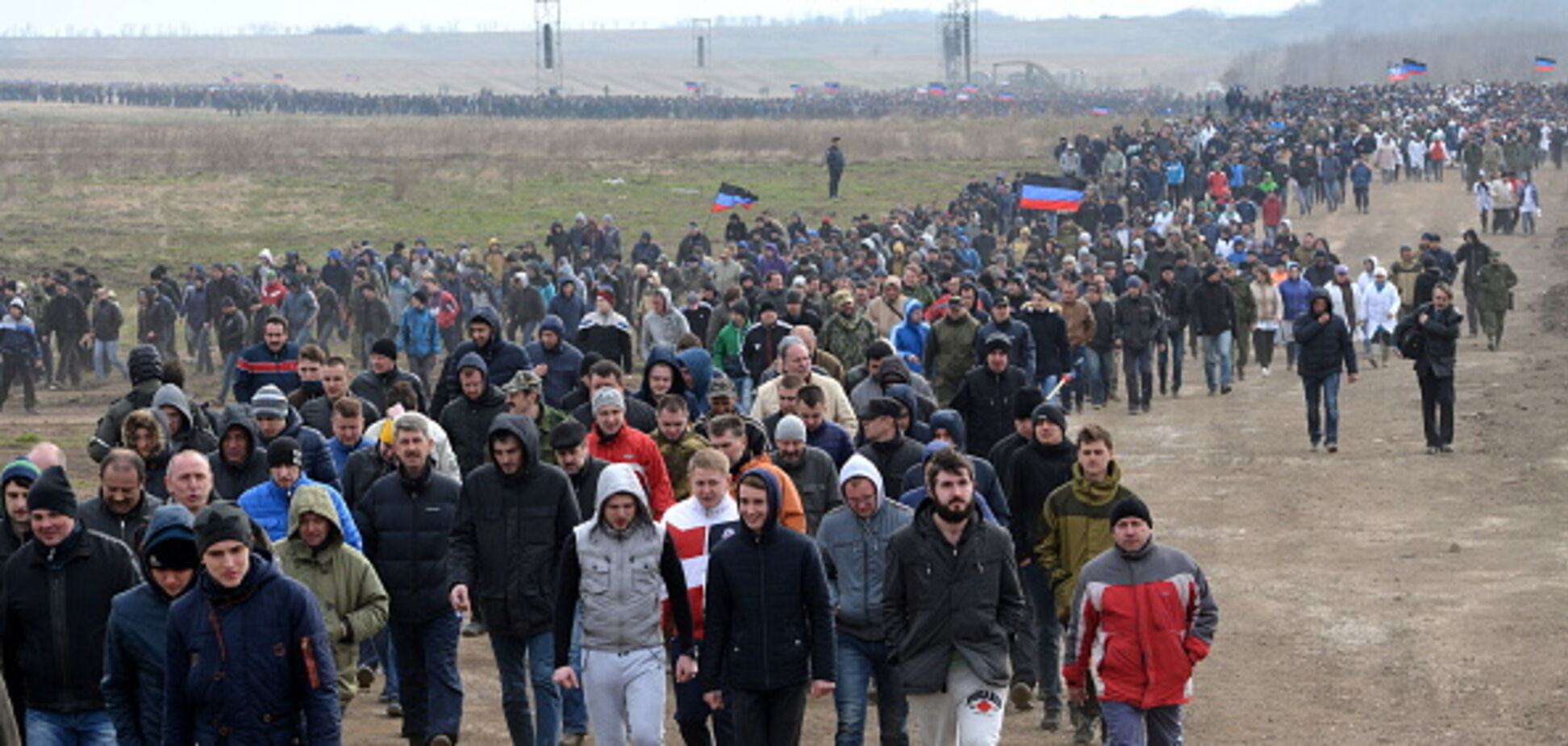 'Ухильників' ловитимуть: в 'ДНР' оголосили масові 'військові збори'