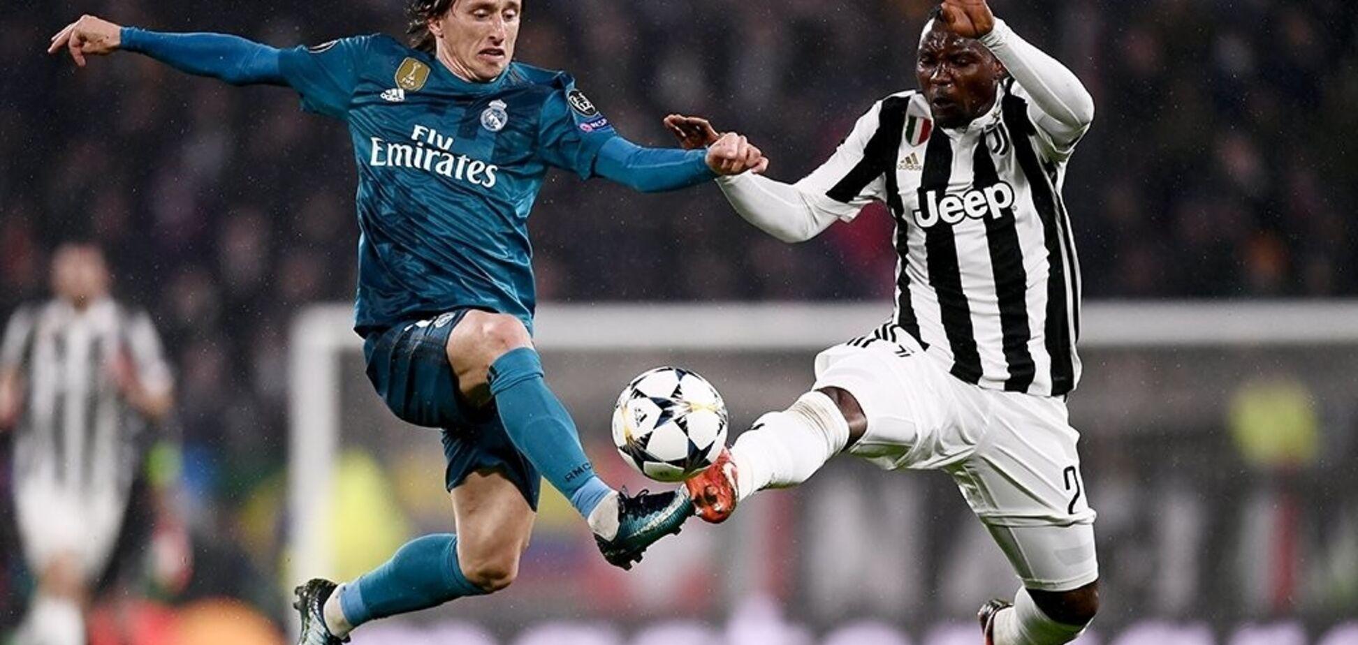 'Реал' - 'Ювентус' - 1-3: онлайн-трансляция 1/4 финала Лиги чемпионов