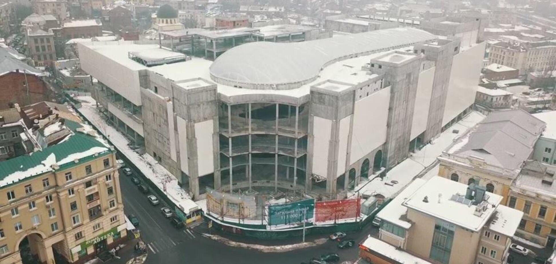 В Харькове построили ТРЦ с рекордно большим куполом