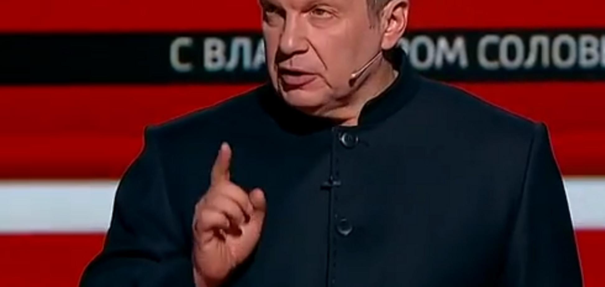'Прихлопнуть, как комара': Соловьев выступил с угрозой в адрес Украины