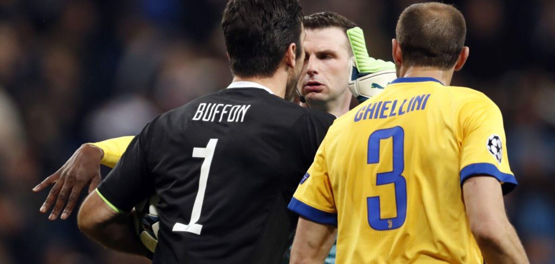 'Тварина!' Буффон втоптав у бруд арбітра матчу з 'Реалом'