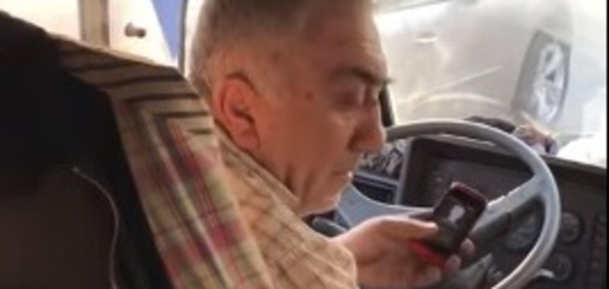 Харьковчан напугал неадекватный водитель маршрутки