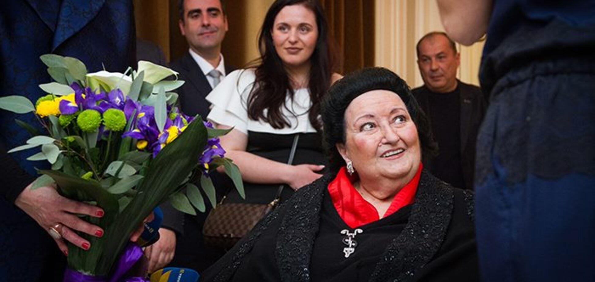 Продавала автограф і вчила співати Камалію: як Монсеррат Кабальє відзначила ювілей у Києві