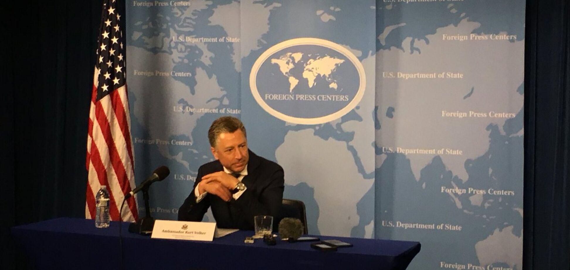 Волкер сказав, де в Україні російськомовне населення знаходиться в небезпеці