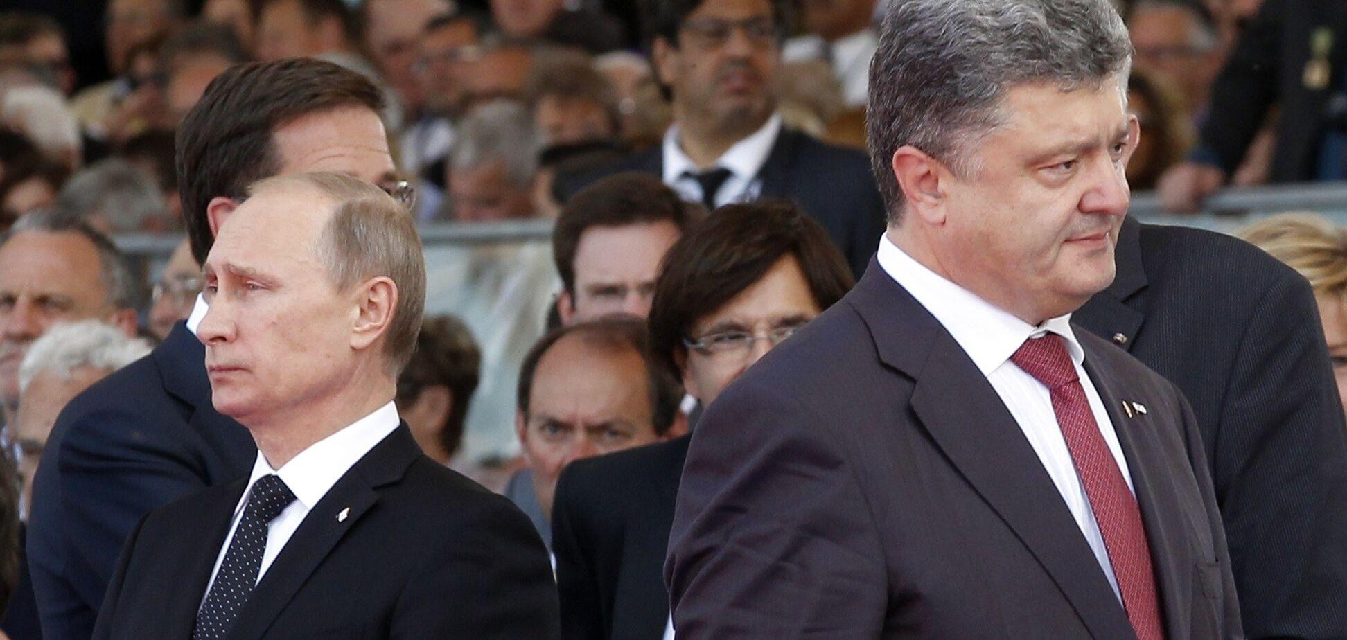 Порошенко звернувся до Путіна на 'ти': у росіян істерика