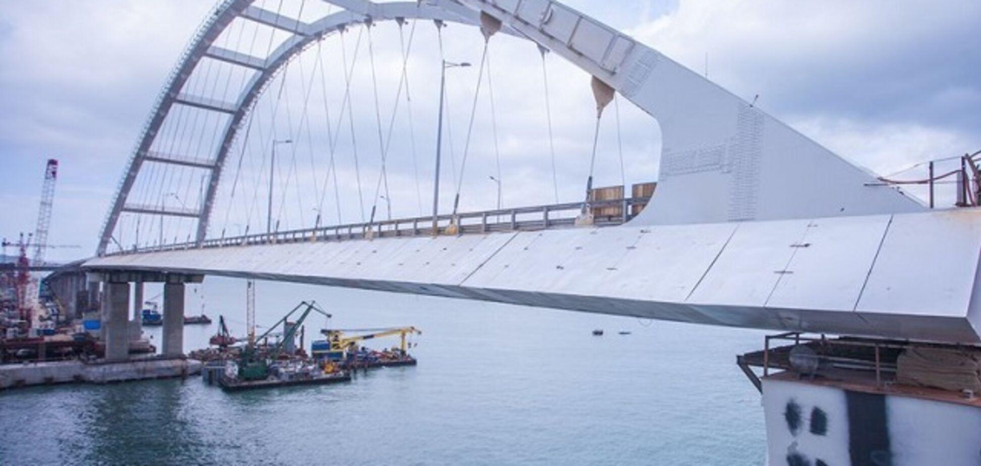 Окупанти приготувалися до запуску Керченського моста