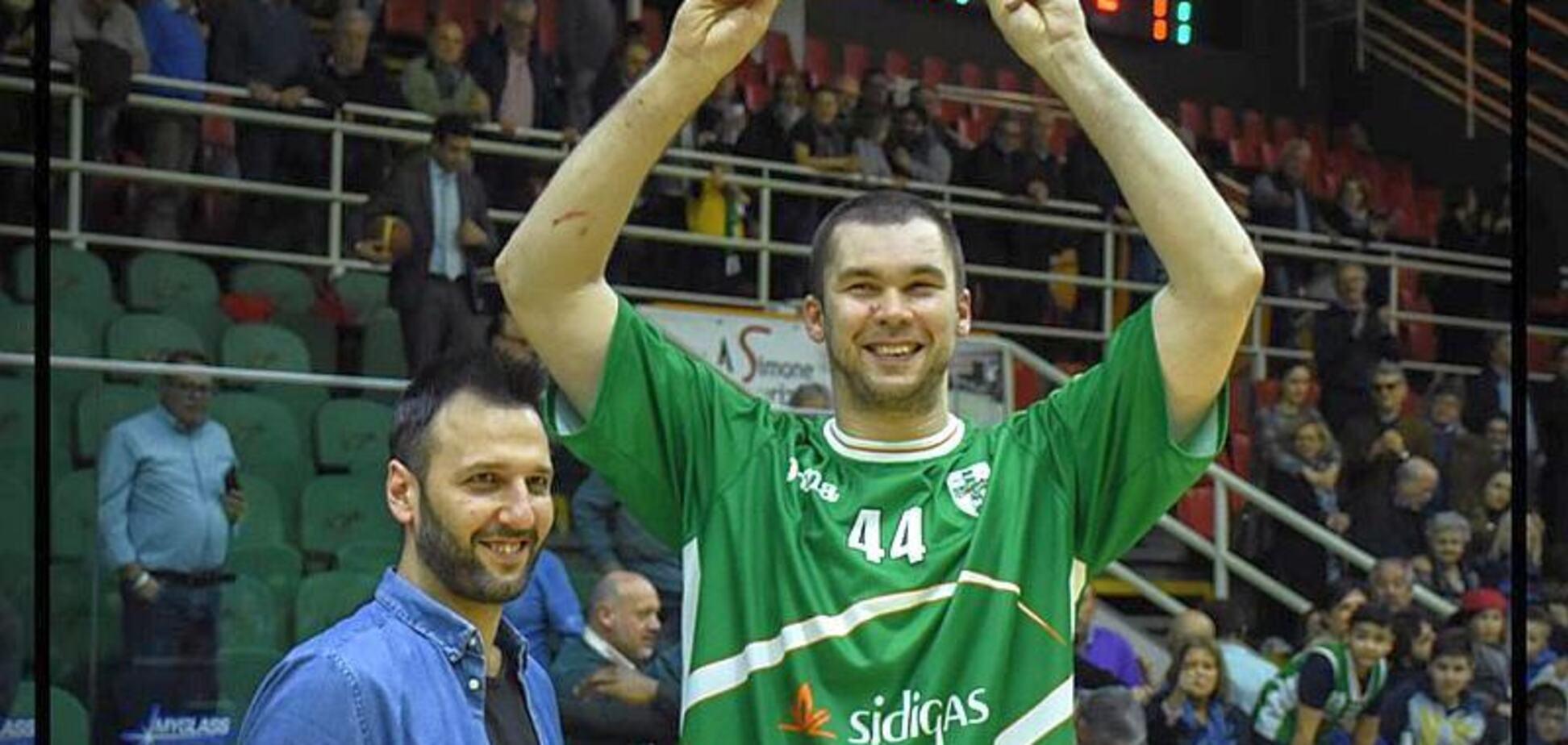 Баскетболіста збірної України назвали найкращим в Італії