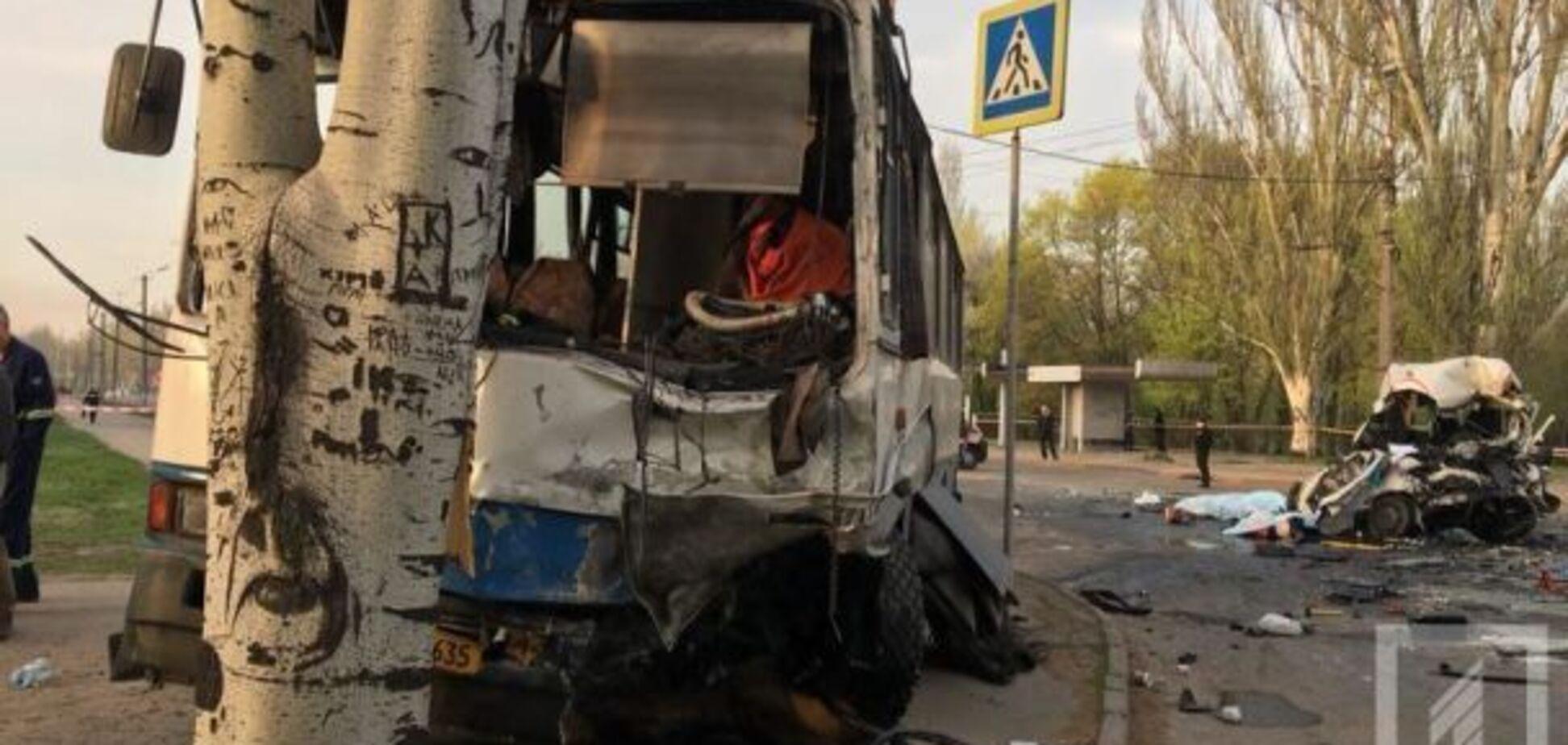 Жахливе ДТП в Кривому Розі: з'явилося відео з місця аварії