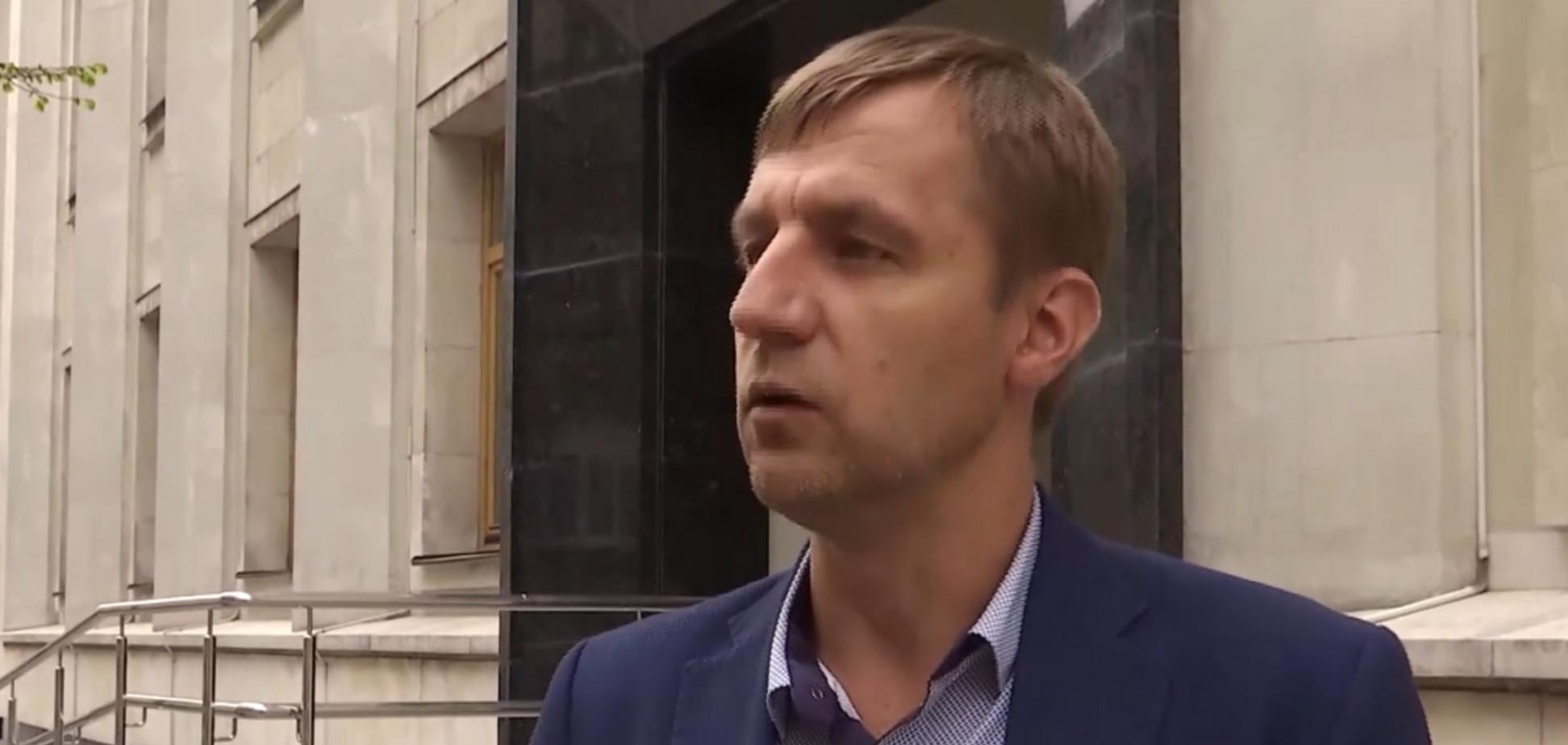 'Майдан забыл, голож*пый!' Появилось видео нападения на козака Гаврилюка