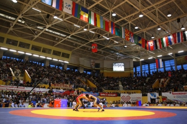 Сборная Украины отправляется в Россию на чемпионат Европы по борьбе