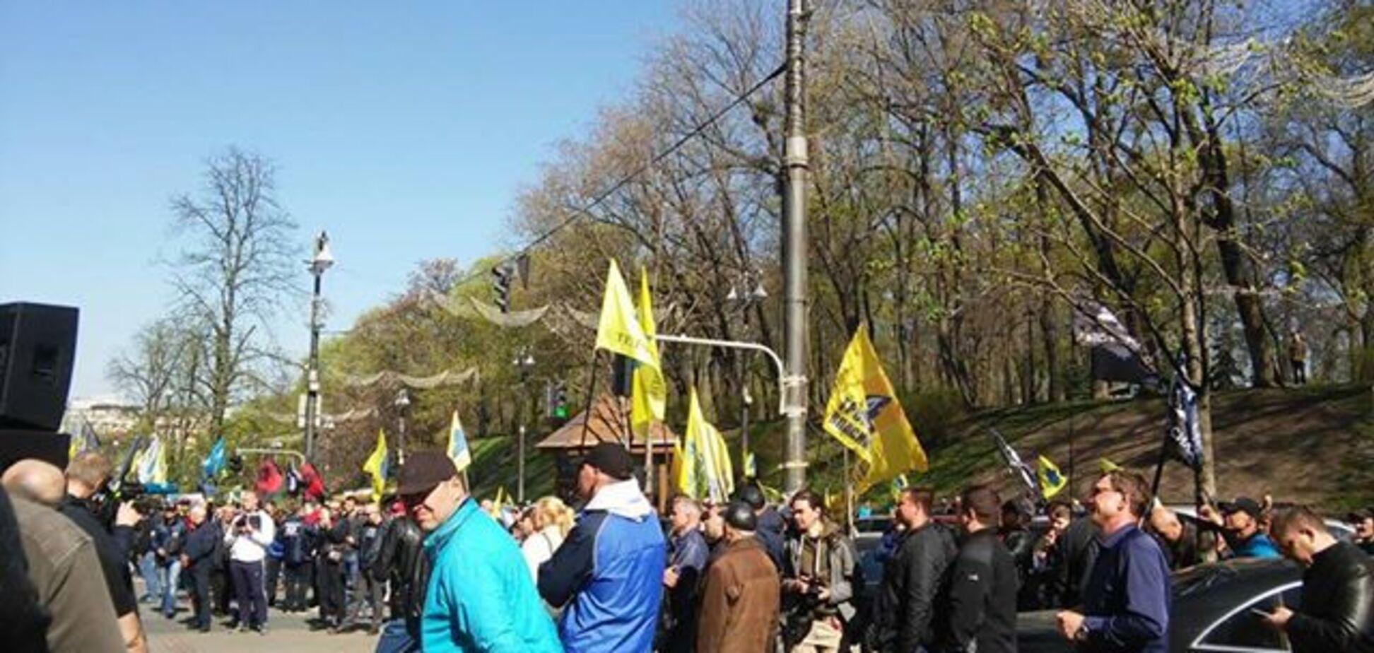 Акция протеста под Кабмином 18 апреля 2018 года