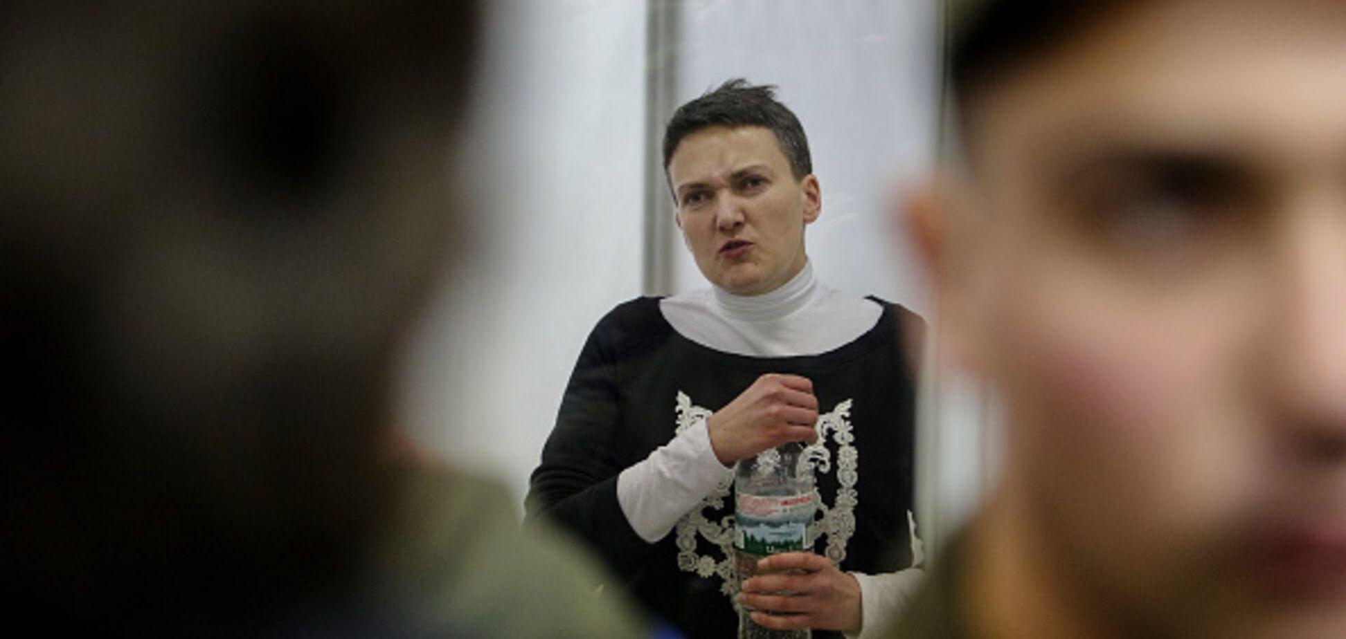 'В рот лізти не дам': Савченко заявила про тортури